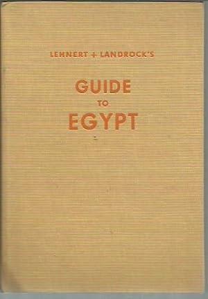 Lehnert and Landrock's Guide to Egypt (1965): Ziock, Hermann