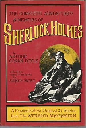 The Complete Adventures and Memoirs of Sherlock: Doyle, Arthur Conan