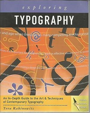 Exploring Typography (Graphic Design/Interactive Media): Rabinowitz, Tova