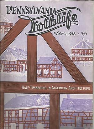 Pennsylvania Folklife Vol, 9, No. 1 (Winter: Pennsylvania Folklife; Alfred