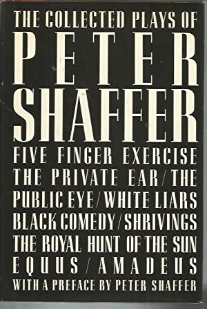 The Collected Plays of Peter Shaffer: Shaffer, Peter