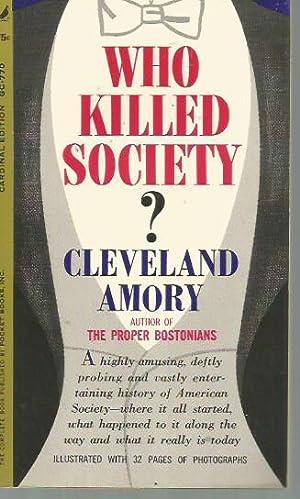 Who Killed Society? (Giant Cardinal Edition, 1962): Amory, Cleveland