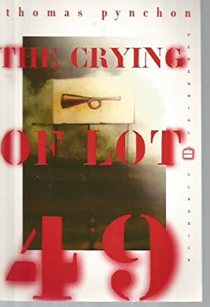 an analysis of the novel the crying of lot 49 Inasmuch as the crying of lot 49 has a plot, it's about a suburban housewife, oedipa mass (all the characters in this book have pun-ny names like that) who, after being named the executor of her wealthy ex-boyfriend's will, discovers a secret society connected by an underground mail service.
