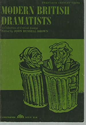 Modern British Dramatists: A Collection of Critical: John Russell Brown