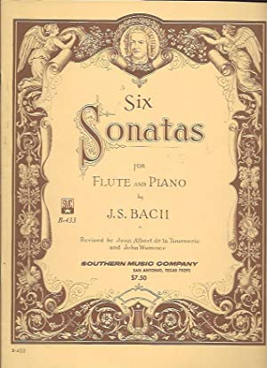 Six Sonatas for Flute and Piano (SMC: Bach, J. S.;