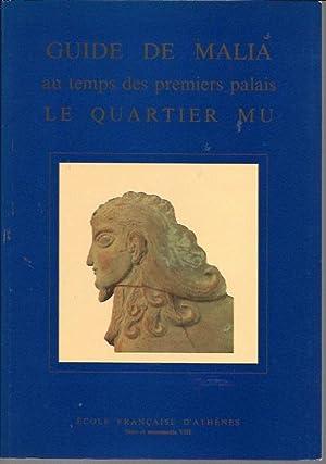 Guide De Malia Au Temps Des Premiers: Jean-Claude Poursat