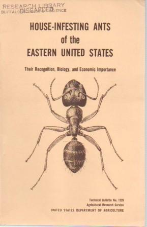 House-Infesting Ants of the United States: Their Recognition, Biology, Importance: Smith, Marion