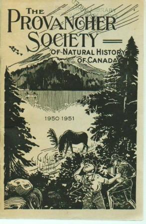 Provancher Society of Natural History of Canada: 1950-1951: Provancher Society