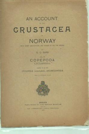 An Account of the Crustacea of Norway, with Short Descriptions and Figures of All the Species, Vol ...