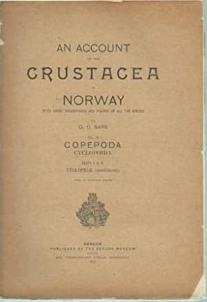 An Account of the Crustacea of Norway, with Short Descriptions and Figures of All the Species, Vol....