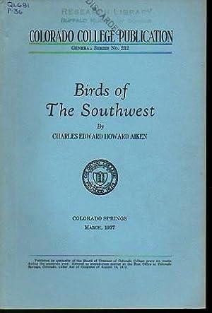 Birds of the Southwest: Aiken, Charles Edward Howard