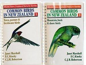 Common Birds in New Zealand (2 vols.): Marshall, Janet &