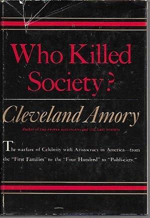 Who Killed Society?: Amory, Cleveland