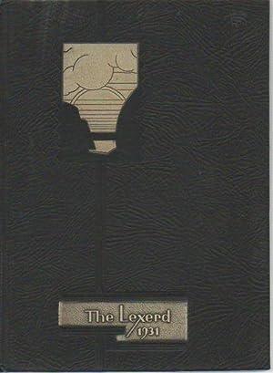 The Lexerd 1931: The Annual of Drexel Institute: Baldwin., H. W.