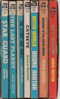 Andre Norton Series (7 Volumes in Slipcase: Catseye, The Last Planet, Star Guard, The Stars Are ...