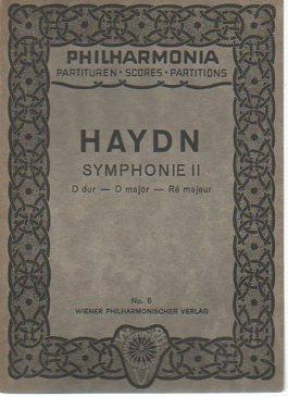 Symphonie II (D dur - D major: Haydn