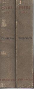 Poems (2 Vols, 1873 Appleton ed.): Tennyson, Alfred