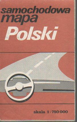 Samochodowa Mapa Polski: Wydawnictw Kartograficznych