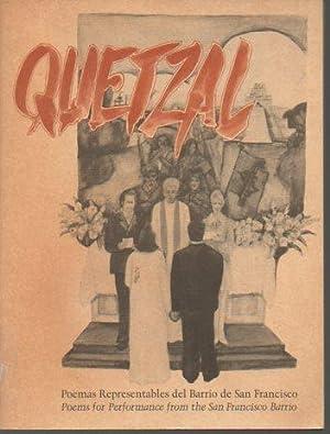 Quetzal: Poemas Representables del Barrio de San: Lobos, Amilcar; Mellott,