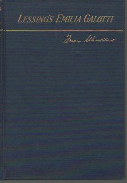 Lessing's Emilia Galotti: Lessing, G. E.;