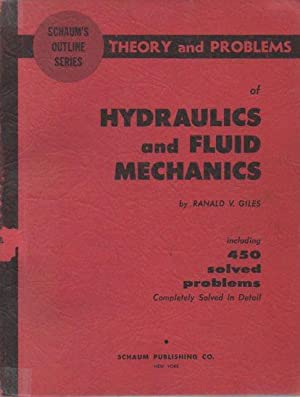 Theory and Problems of Hydraulics and Fluid: Giles, Ranald V.