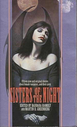 SISTERS OF THE NIGHT.: Hambly, Barbara and Martin H. Greenberg, editors (signed Hambly, Niven, ...