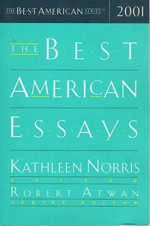 THE BEST AMERICAN ESSAYS 2001.: Norris, Kathleen, editor