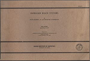 HAWAIIAN BEACH SYSTEMS: Final Report Appendices A and B.: Moberly, Ralph Jr. and Theodore ...