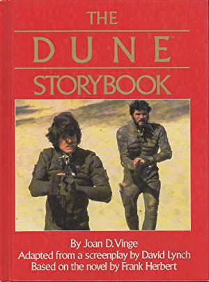THE DUNE STORYBOOK.: Vinge, Joan D. (Adapted from a screenplay by David Lynch. Based on the novel ...
