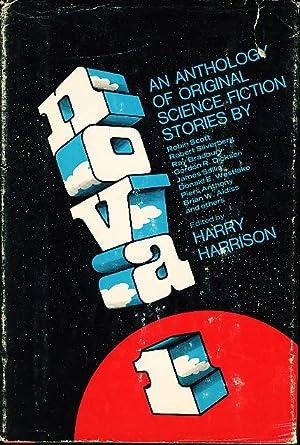 NOVA 1: [Anthology, signed] Harrison, Harry, editor; Silverberg, Robert and David Gerrold, signed; ...