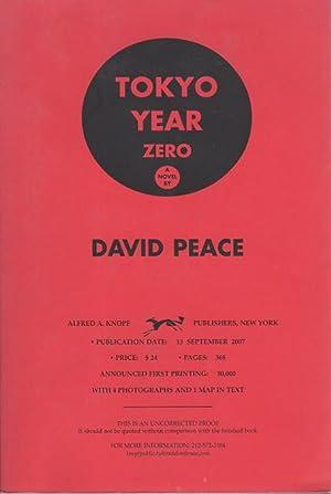 TOKYO YEAR ZERO.: Peace, David.