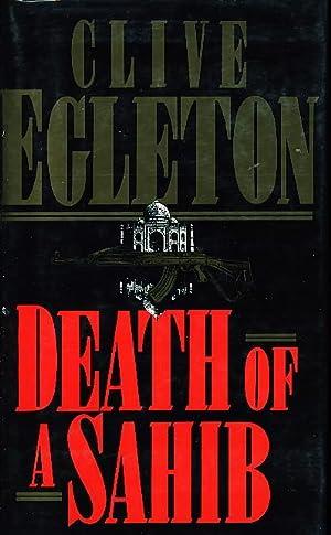 DEATH OF A SAHIB.: Egleton, Clive.