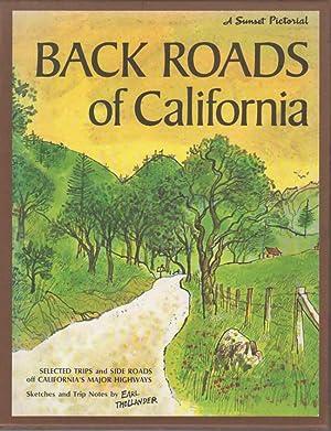 SUNSET BACK ROADS OF CALIFORNIA.: Thollander, Earl.