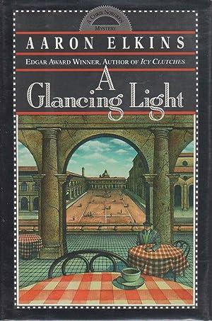 A GLANCING LIGHT.: Elkins, Aaron.