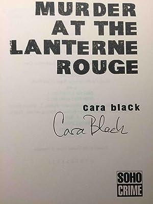 MURDER AT THE LANTERNE ROUGE.: Black, Cara.