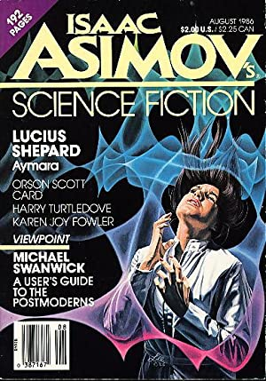 ISAAC ASIMOV'S SCIENCE FICTION MAGAZINE August 1986. Volume 10, Number 8.