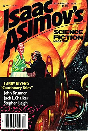 'Cautionary Tales' in ISAAC ASIMOV'S SCIENCE FICTION MAGAZINE July-August 1978. Volume 2, Number 4.