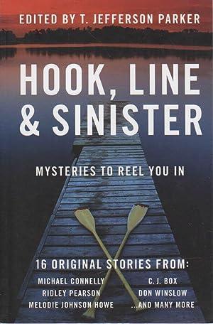 HOOK, LINE & SINISTER.: Anthology, signed] Parker. T. Jefferson.