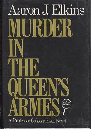 MURDER IN THE QUEEN'S ARMES.: Elkins, Aaron.