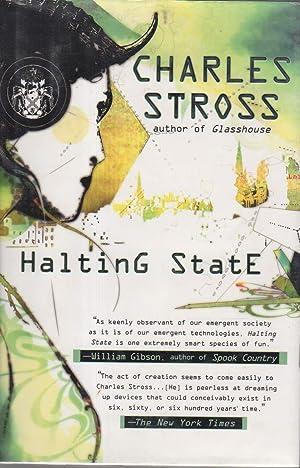 HALTING STATE.: Stross, Charles.