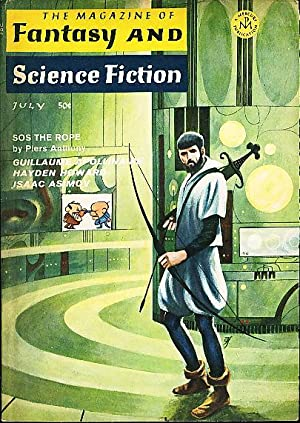 THE PSYCHEDELIC CHILDREN in The Magazine of Fantasy and Science Fiction, July 1968; Volume 35, Nu...