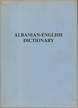ALBANIAN - ENGLISH DICTIONARY / FJALOR SHQIP - ANGLISHT.: Kici, Gasper.