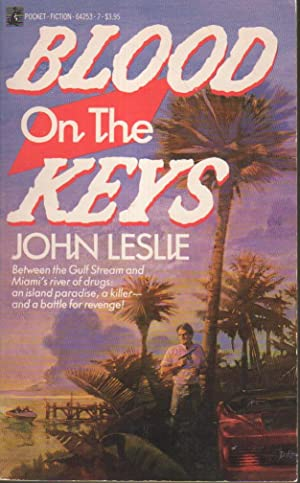 BLOOD ON THE KEYS.: Leslie, John