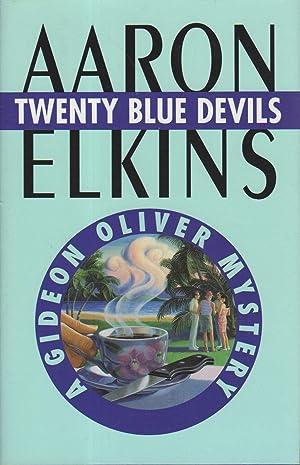 TWENTY BLUE DEVILS.: Elkins, Aaron.