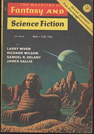 THEY FLY AT CIRON in FANTASY AND SCIENCE FICTION, June 1971, Volume 40, Number 6.