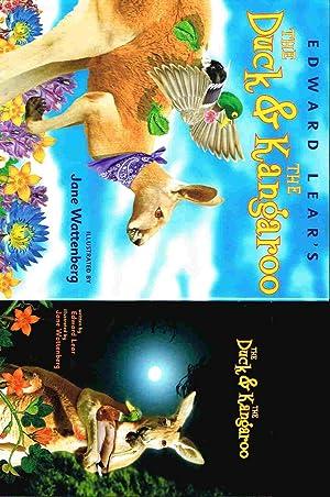 EDWARD LEAR'S THE DUCK AND THE KANGAROO.: Wattenberg, Jane, illustrator,