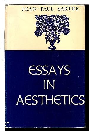 ESSAYS IN AESTHETICS.: Sartre, Jean-Paul.