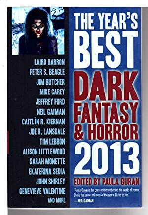 THE YEAR'S BEST DARK FANTASY AND HORROR: Anthology, signed] Guran,