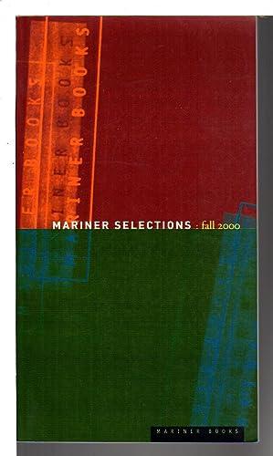 FALL 2000 MARINER SELECTIONS: Wild Life, War: Hirsch, James S.;