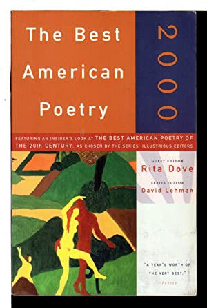 THE BEST AMERICAN POETRY 2000.
